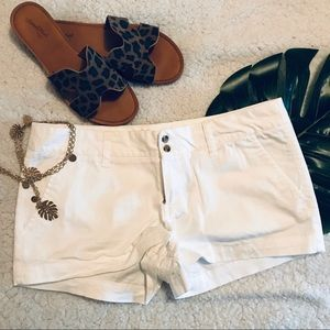 White Chino Shorts Target Mossimo Size 8
